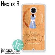 Beauty And The Beast Belle Quotes Phone case for Nexus 4/5/6