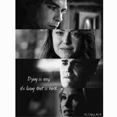 Image de the vampire diaries, elena gilbert, and stefan salvatore
