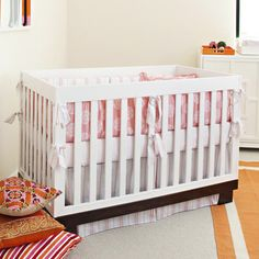 love the bumper and crib sheet...not sure about the stripes  @Layla Grayce