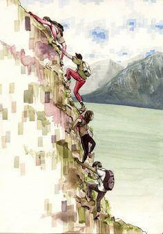 Diverse & interesting illustrated series of Alaska, Pat Perry