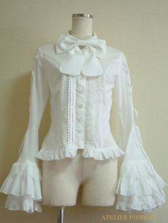 Atelier Pierrot Empress Blouse White
