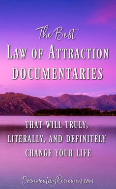 These law of attraction documentaries are some of the most inspirational documentaries out there. They can completely change your life by just changing your mind. If you want to learn more about the law of attraction, these documentaries are your answer! Best Documentaries On Netflix, Health Documentaries, Netflix Movies, Law Attraction, Manifestation Law Of Attraction, Law Of Attraction Affirmations, Levels Of Understanding, Self Improvement, Self Help