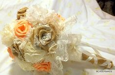 Hey, I found this really awesome Etsy listing at https://www.etsy.com/listing/155801470/wedding-bouquet-bridal-bouquet-shabby