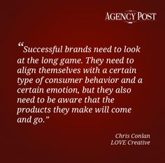 Interview with Chris Conlan, Managing Director of LOVE Creative    http://www.agencypost.com/pov-interview-with-chris-conlan-managing-director-of-love-creative/