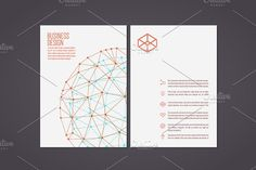 Corporate Flyer by Beatriz Gascón on @creativemarket