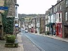High Street in Pateley Bridge Yorkshire Dales
