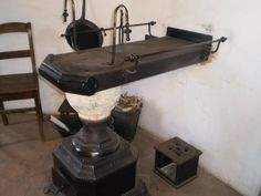 "Traditional ""Leuvense Kachel"" stove"