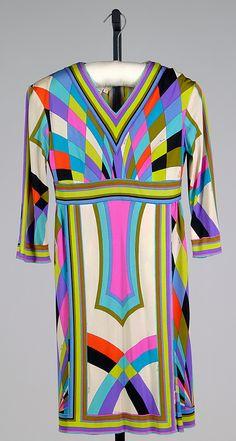 Vintage Pucci ~ dress, ca. 1965