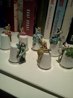 fairy thimbles @ my library by Thimble Collection by Tanil Vaner, via Flickr (Pam needs to find this collection somewhere.)