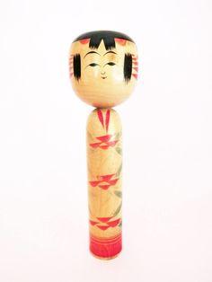 Made in Japan 019 伝統小芥子 DENTO KOKESHI VINTAGE Poupée japonaise