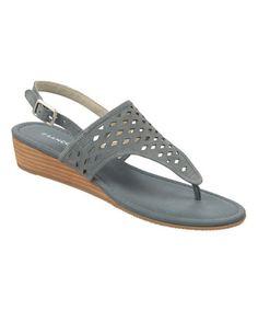 Look at this #zulilyfind! Jeans Charlize Leather Sandal #zulilyfinds