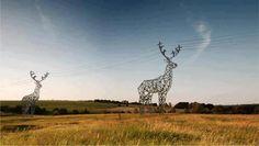 Juxtapoz Magazine - Displaying items by tag: Street Art Graffiti Kunst, Transmission Tower, Art Public, Oh Deer, Parcs, Akita, Oeuvre D'art, Les Oeuvres, Giraffe