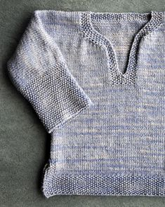 Easy Pullover for Babies, Toddlers andKids - The Purl Bee - Knitting Crochet Sewing Embroidery Crafts Patterns and Ideas!