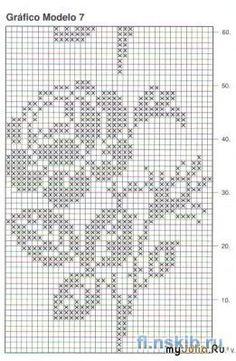 Filet crochet by ornah kaye – Artofit Rose diagram only. Filet Crochet Charts, Crochet Diagram, Crochet Motif, Crochet Doilies, Crochet Lace, Crochet Stitches, Doily Patterns, Knitting Patterns, Knit Patterns