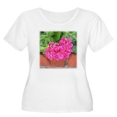 👕 Geranium Bloom t-shirt Unique Gifts For Mom, Perfect Mother's Day Gift, Baseball Tees, Geraniums, Red And Pink, Mother Day Gifts, Classic T Shirts, Bloom, T Shirts For Women