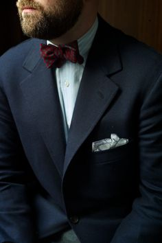ethandesu: Un-Ironic Bow Ties by Drake's Modern Gentleman, Gentleman Style, Daily Fashion, Mens Fashion, Little Boy Outfits, Tie Shoes, Beard Styles, Wedding Suits, Cool Suits