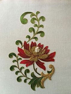 More lovely embroidery from Larissa Borodich