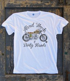 DIRTYHANDS T-SHIRT di DBgraphic su Etsy