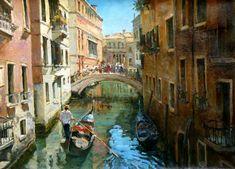 "Azat Galimov - ""Sunny Day in Venice"""