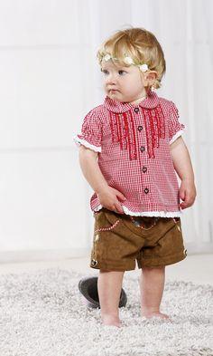 Lederhosen und Trachtenhemd für Babys und Kleinkinder von BONDI Baby Dirndl, Lederhosen, Bavaria, Toddler Fashion, Kind Mode, Toddlers, Shopping, Vintage, Style