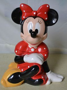 Minnie Mouse Cookie Jar by the Disney Store