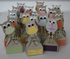 Herzens_Licht: Mini Packaging and again the owls Parade by Stampin 'Up!