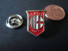 a16 MILAN FC club spilla football calcio soccer pins broches italia italy