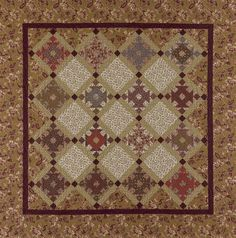 Bordeaux - pattern by Paula Barnes at Red Crinoline Quilts
