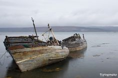 Abandoned fishing boats from Talk Photography