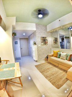 Ideas For Apartment Decorating Living Room Couch Interior Design Small Apartment Interior, Small House Interior Design, Condo Design, Interior Design Studio, Apartment Ideas, Design Homes, Studio Design, Apartment Layout, Interior Sketch