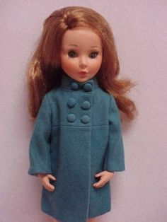 mod Via Condotti Old Ones, Vintage Dolls, Doll Toys, Fur Coat, Accessories, Clothes, Collection, Fashion, Outfits