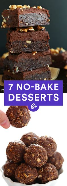 In as little as six minutes. #nobake #desserts http://greatist.com/eat/no-bake-desserts