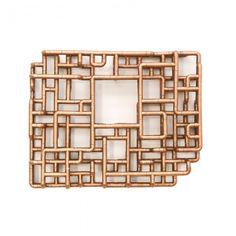 TJ Volonis: Progression, Digression (2011) #art #walldecor #copper #pipes #industrial #geometric