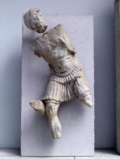 https://flic.kr/p/a1vYWH | Telephos Frieze, East Wall - Southern Section, Pergamon Altar, Pergamon Museum, Berlin | Panels 22-24 – Battle against the Greeks, Nireus kills the Amazon Hiera, Telephus' wife