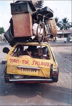 Photo: Do - 505 Peugeot, Cotonou Benin, African Image, Afrique Art, Packers And Movers, Dominique, West Africa, South Africa, Africa Travel