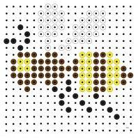 Perler Beads, Pixel Art, Montessori, Bees, Insects