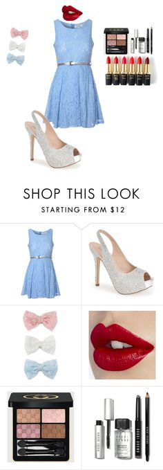 """""""Untitled #212"""" by miaafrodite ❤ liked on Polyvore featuring beauty, Glamorous, Lauren Lorraine, Decree, Gucci, Bobbi Brown Cosmetics and L'Oréal Paris"""