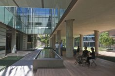 modern courtyard building - Google Search