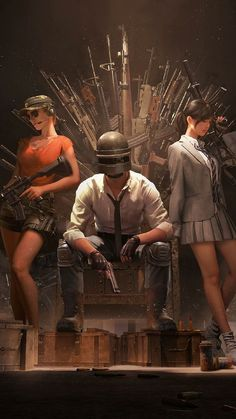 PUBG Helmet Guy With Girls Playerunknown's Battlegrounds Free Ultra HD Mobile Wallpaper - This is Pubg Wallpapers Android, Iphone 7 Plus Wallpaper, Mobile Wallpaper Android, Mobile Legend Wallpaper, Hd Wallpapers For Mobile, Full Hd Wallpaper, Gaming Wallpapers, Wallpaper Downloads, Iphone Mobile
