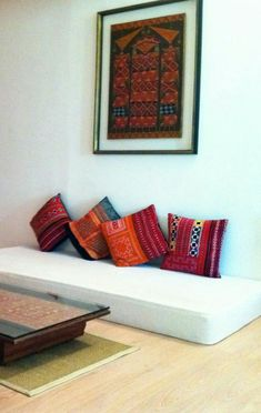 Indian Interior Design Ideas - The Architects Diary - Matthew Gordon - Indian Living Rooms Indian Living Rooms, Living Room Sofa, Living Room Decor, Decor Room, Ethnic Home Decor, Indian Home Decor, Moroccan Decor, Sofa Design, Indian Interior Design