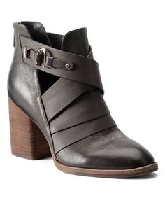 Look what I found on #zulily! Pewter Ladora Leather Bootie #zulilyfinds