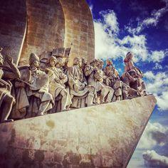 Padrão dos Descobrimentos. #art #statue #history // #Belém #Lisboa #Portugal