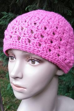 Amazing Grace Hat-Free Pattern Designed for Charity in honor of Breast Cancer Awareness