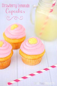 Strawberrylemonadecupcakes