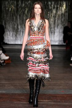 Altuzarra Fall 2012 Ready-to-Wear Fashion Show Collection