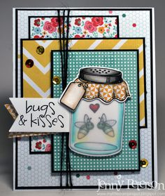 My Little Stampin' Spot Jenny Peterson Perfect Paper Crafting Design Team Member and Brand Ambassador. Great layers using Perfect Layers Mini tools.