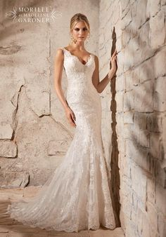 Mori Lee by Madeline Gardner 2708 Wedding Dress - The Knot