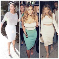 What I would do to have Kim's wardrobe, her style is perfection.