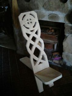 Viking Chair, took more time making the pattern than making the chair......loved it.
