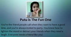 Check my results of What kind of Best Friend you are? Facebook Fun App by clicking Visit Site button